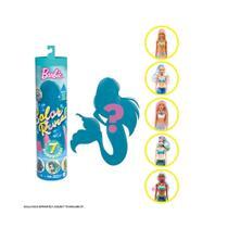 Boneca Barbie Color Reveal Serie 4 Sereia Mattel GTP43 -