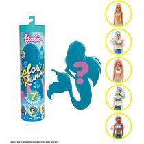 Boneca Barbie Color Reveal Série 4 Sereias Surpresa Mattel -