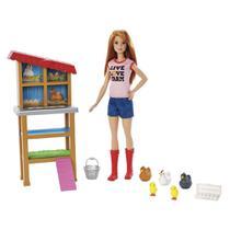Boneca Barbie com Acessórios - Profissões - Barbie Granjeira - Mattel -