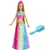 Boneca Barbie Dreamtopia Cabelos Mágicos - FRB12 - Mattel -