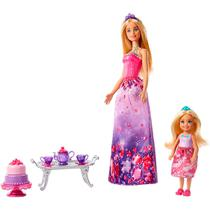 Boneca Barbie Dreamtopia Fun Barbie e Chelsea FPL88 Mattel