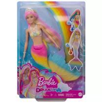 Boneca Barbie Dreamtopia Muda de Cor Mattel - GTF89 -