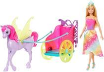 Boneca Barbie Dreamtopia Princesa E Carruagem GJK53 Mattel -