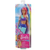 Boneca Barbie - Dreamtopia Sereia De Cauda Azul - Mattel -