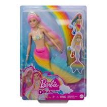 Boneca Barbie  Dreamtopia  Sereia Muda De Cor  Mattel -