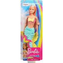 Boneca Barbie Dreamtopia Sereia Rosa Pink Mattel -