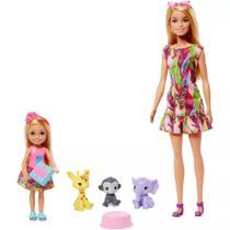 Boneca Barbie e Chelsea Aniversário Perdido Mattel GTM82 -