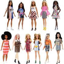 Boneca barbie fab sortidas fashionistas 1x1 - Mattel