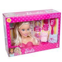 Boneca Barbie Faça Penteados Busto Com Acessórios Fashion - Pupee