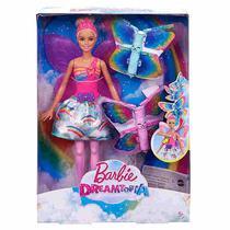 Boneca Barbie Fada Asas Voadoras Mattel -