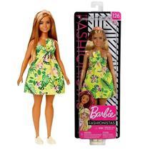 Boneca Barbie Fashionista 126 Mattel -