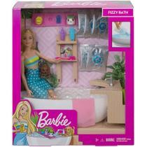 Boneca Barbie Fashionista Banho De Espumas Mattel GJN32 -
