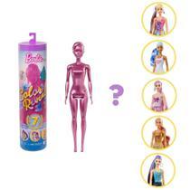 Boneca Barbie Fashionista - Color Reveal - Glitter - Mattel serie 5 -