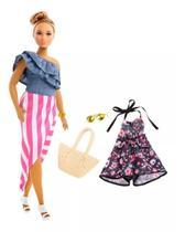 Boneca Barbie Fashionista com Acessórios 102 Mattel -