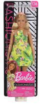 Boneca Barbie Fashionista Doll Look Modelo 126 - Mattel -