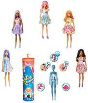 Boneca Barbie Fashionista Estilo Surpresa - Color Reveal - Série Ar Livre - Mattel -