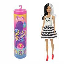 Boneca Barbie Fashionista Estilo Surpresa Cores Mágicas GPG14 Mattel -