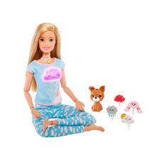 Boneca Barbie Fashionista Medita Comigo - Mattel -