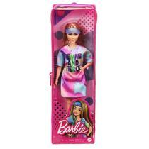 Boneca Barbie Fashionista Vestido Tie Dye Mattel -