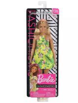 Boneca Barbie Fashionistas - 126 Vestido Selva - FXL59 - Mattel