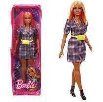 Boneca Barbie Fashionistas 161 - Nova embalagem no Estojo Plástico - Mattel -