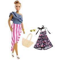 Boneca Barbie Fashionistas N 102 Com Acessórios - 8281 - Mattel