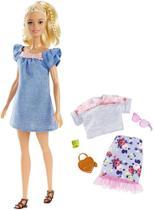 Boneca Barbie Fashionistas N 99 Com Acessórios - 8281 - Mattel