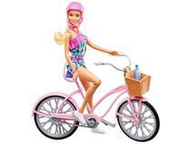 Boneca Barbie FTV96 com Bicicleta - Mattel