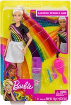 Boneca Barbie - Lindos Penteados - Cabelo Arco-íris - Mattel -