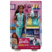 Boneca Barbie Pediatra Negra Mattel -