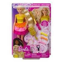 Boneca Barbie Penteado dos Sonhos com Acessórios Mattel GBK24 (14218) - Ludi