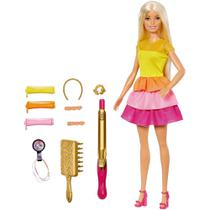 Boneca Barbie Penteado Dos Sonhos GBK24 Mattel -