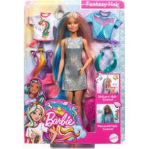 Boneca Barbie Penteados de Fantasia Mattel - GHN04 MATTEL -