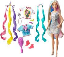 Boneca Barbie Penteados de Fantasia Mattel -