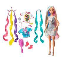 Boneca Barbie Penteados de Fantasia Original - Mattel GNH04 -