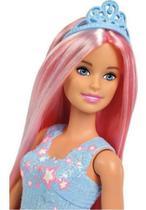 Boneca Barbie Penteados Mágicos Dreamtopia Cabelo Rosa - Mattel
