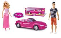 Boneca Barbie Princesa + Boneco Ken 115 Oriental Com Carro Conversível - Mattel