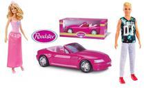 Boneca Barbie Princesa + Boneco Ken 116 Loiro Com Conversível - Mattel