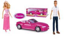 Boneca Barbie Princesa + Boneco Ken 117 Com Carro Conversível - Mattel