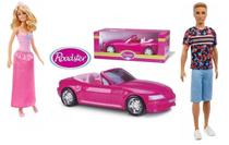 Boneca Barbie Princesa + Boneco Ken 118 Loiro Com Conversível - Mattel