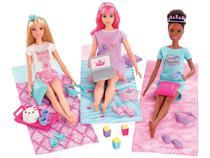 Boneca Barbie Princesa de Aventura  - Festa do Pijama com Acessórios Mattel