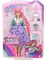 Boneca Barbie Princess Adventure Daisy Fashion + Pet - Mattel