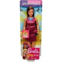 Boneca Barbie Profissões Aniversário 60 Anos - Jornalista Gfx27 (190) - Mattel