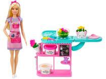 Boneca Barbie Profissões Loja de Flores - com Acessórios Mattel