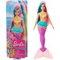 Boneca Barbie Sereia Dreamtopia  Articulada Calda com Gliter Colecionavel - Mattel