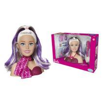 Boneca Barbie Styling Mattel Busto Head Faces -