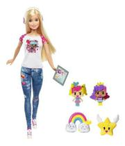 Boneca Barbie Video Game Hero Loira Personagem Pixel - Mattel