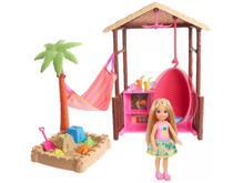 Boneca Barraca da Chelsea - Explorar e Descobrir - Mattel
