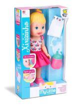 Boneca Bebê Baby Alive My Little Faz Xixi Menina - Divertoys -