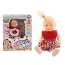 Boneca bebe bla bla bla fala 20 frases - sid-nyl - ddc -